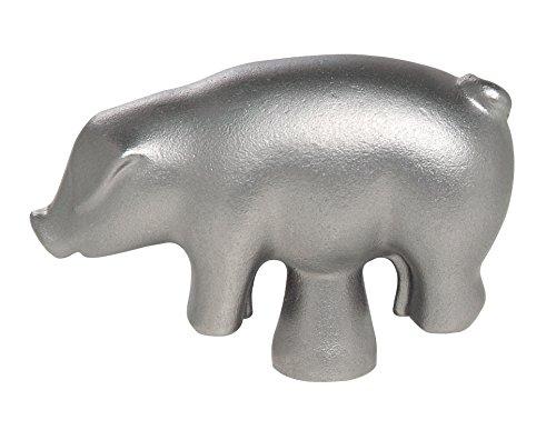 STAUB Deckelknopf Schwein, Edelstahl, Silber, 6.7 x 2.5 x 4.5 cm