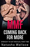 MMF Coming Back for More: Straight to Gay Bisexual First Time Cuckold
