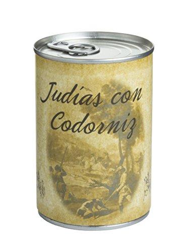 Huertas Judías con Codorniz - 451 g
