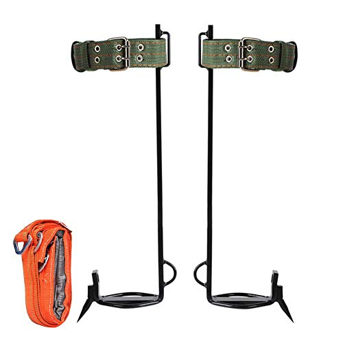 househome Baumkletter Artefakt Baumkletterausrüstung Set Sicherheitsgurt Verstellbarer Lanyard Seil Rettungsgürtel