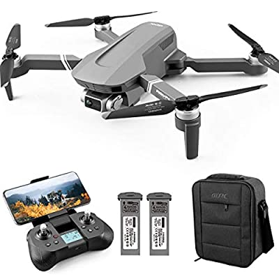 4DRC F4 GPS Drone with 4k FHD Camera for Adults,Drone with 5G WiFi Live Video Brushless Motor, Foldable Quadcopter with GPS Return Home, Follow Me, 60 Minutes Flight Time, Long Control Range