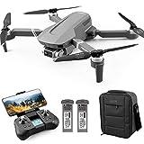 4DRC F4 Drone con cámara 4K HD GPS plegable para adultos 60 minutos de vuelo 1000 metros de pPrtata FPV Control Gestual...