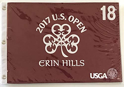 2017 u.s. open red pin flag Erin hills golf new usga