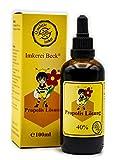 ImkereiBeck® - Propolis Lösung / Tinktur / Tropfen mit 40% natürlichem Propolis, ohne Zusatzstoffe in Imkerqualität, direkt vom Imker (100ml - 40%)