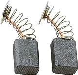 Escobillas de Carbón para MAKITA RT0700C fresadora - 6x9x12mm - 2.4x3.5x4.7''