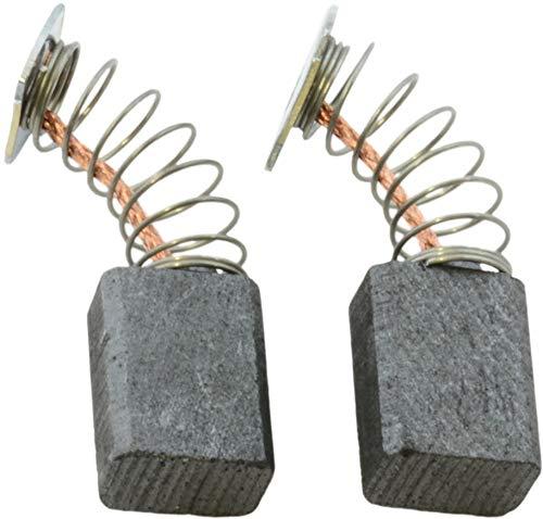 Escobillas de Carbón para MAKITA 3709 fresadora - 6x9x12mm - 2.4x3.5x4.7\'\'