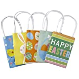 Hallmark Mini Paper Gift Bags Assortment, Happy Easter (Multicolored, Pack of 5)