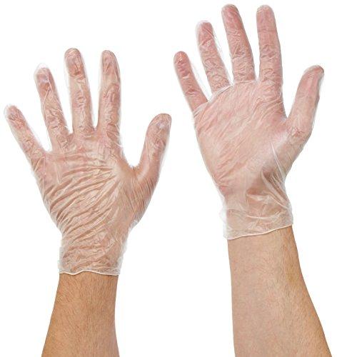 und Flüssigkeitsschutz Schwarz 45cm Gummi Latex Handschuh Chemikalien