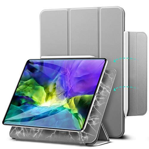 ESR Rebound Magnetic Case para iPad Pro 11 2020 e 2018, Conveniente Acessório Magnético [Compatível com Pen and Charging Pairing] Capa Smart Case Capa Smart Case Auto Sleep/Wake Capa Trifold - Cinza