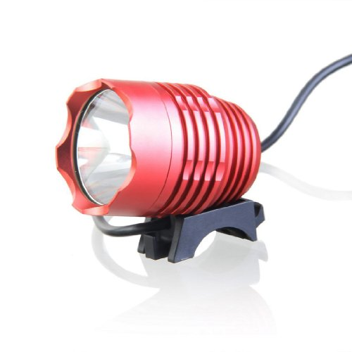 WindFire 2000 Lumens CREE XM-L T6 U2 LED 3 Modes Headlamp Headlight LED Bike Lamp Bicycle Light Lamp Torch Flashlight with 8.4V Rechargeable Battery Pack and Charger for Outdoor Riding Biking Cycling