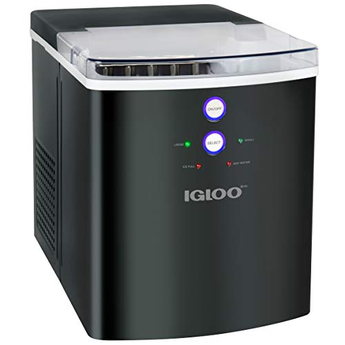 Igloo ICEB33BS Automatic Portable Countertop Ice Maker