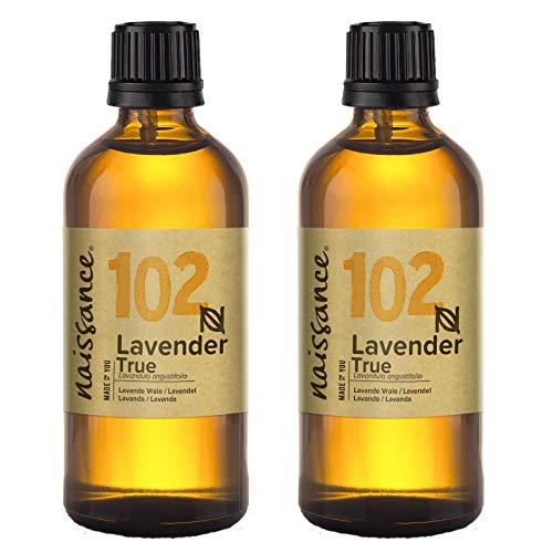 Aceite esencial de lavanda, pack de 2 100 ml X 2