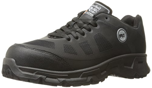 Timberland PRO Men's Velocity Alloy Safety Toe EH Industrial & Construction Shoe, Black Synthetic, 9...