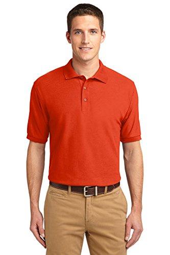Port Authority® Silk Touch™ Polo. K500 Orange 2XL