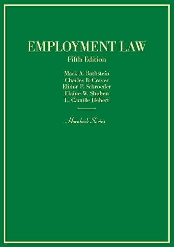 Employment Law (Hornbooks)