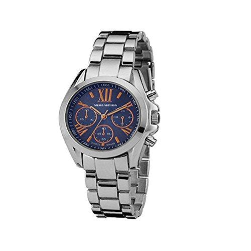 98118   Reloj Unisex Amaya Arzuaga Mod. 15Rj0004 Coleccion Metal Blanco