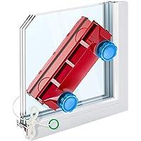 Tyroler Bright Tools - Limpiacristales Magnético The Glider D-3 AFC - Limpiador de Ventanas para Interior y Exterior | Acristalamiento Simple o Doble 2-28 mm | Potencia de Imán Ajustable