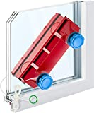 "Tyroler Bright Tools Magnetic Window Cleaner The Glider D-3 AFC Single or Double Glazed Window 0.1""-1.1"" 