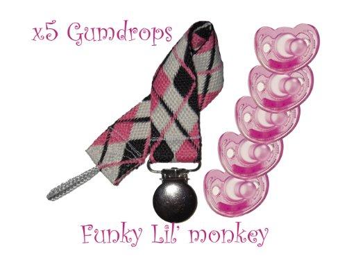 Biberón 4 Meses  marca funky lil monkey clip