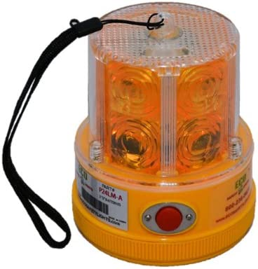 P24LM 24 LED AMBER Max 54% OFF PORTABLE EMERGE SAFETY PERSONAL HAZARD LIGHTS free