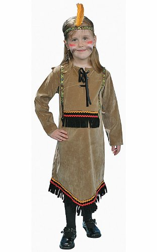 Dress Up America Costume de luxe pour fille indienne