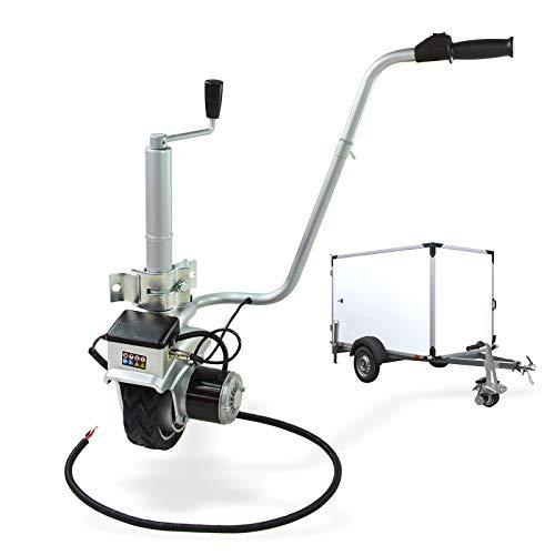 PKW Elektro Anhänger-Stützrad mit elektrischem Antrieb 12V Rangier-Stützrad