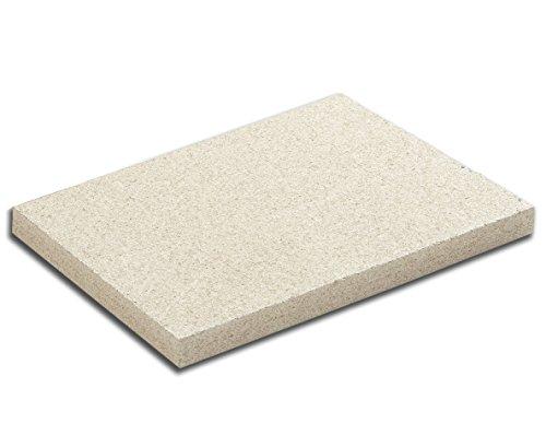 Vermiculite 3cm 30x50cm Schamottersatz Schamottstein