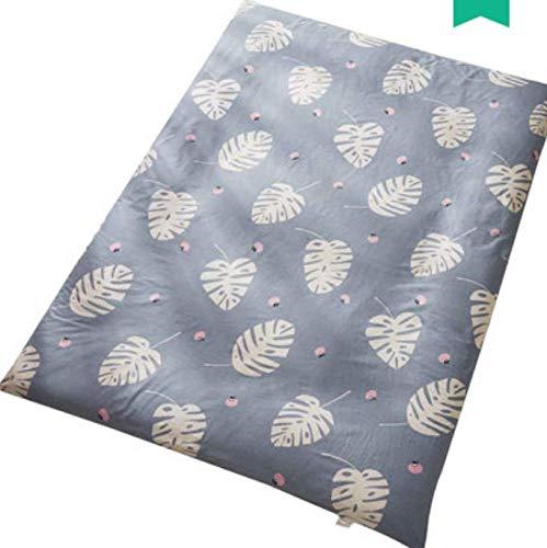 RKZM Katoenen dekbed voor kinderen, tatami mat, bed, stofhoes, dunne onderlaag, speciale all-inclusief, matras, dekbed, geschikt voor 8 cm onder 180 x 200 cm