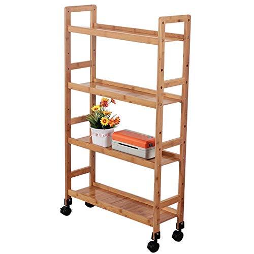 WLD Carro de servicio de cocina Carro de almacenamiento familiar para hotel con polea Material de...