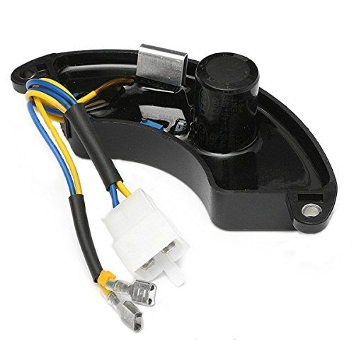 LaDicha 3-8Kw Universal Avr Regulador De Voltaje Automático Generador De Rectificador 250V 470Uf Adecuado para 173 177 182 188 190 192 Generador