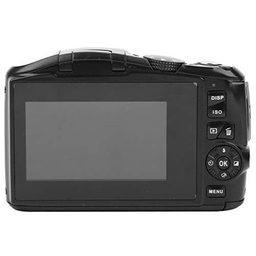SALUTUYA Batteria incorporata da 800 mAh Videoregistratore ad Alta Definizione Fotocamera mirrorless da 48 MP Flash Automatico Fotocamera Digitale Domestica, Servizio Fotografico