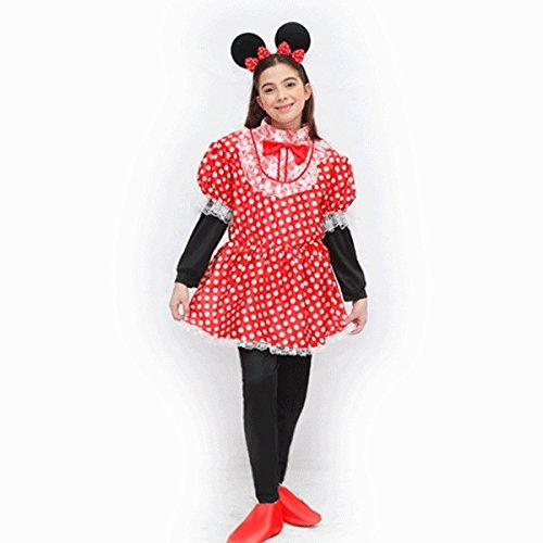 Pegasus Disfraz de mscara de carnaval para nia  Tocador de Mickey Mouse  Talla 7/8 aos  107 cm