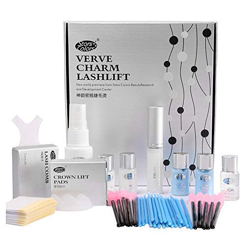 Kit de Permanente de Pestañas, Eyelash Perm Liquid Eyelash Wave - Herramientas...