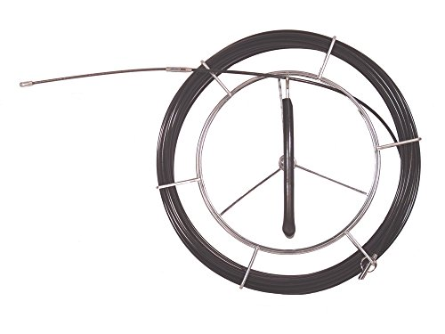 Guia pasacables electricista de fibra de vidrio 60 metros grosor varilla 3.8mm...