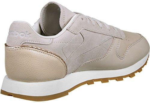 Reebok Classic Leather Golden Neutral Damen Sneaker Nude