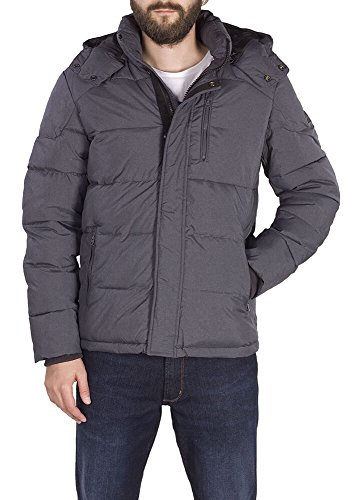 Wrangler Herren Protector Jacket MID Jacke, Grau (New Grey Tt), Small