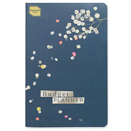 Boxclever Press Budget Planner. Planer zur Organisation Ihrer Finanzen. Haushaltsbuch zum Eintragen mit Rechnungstracker, Monatsplaner und mehr. Undatierter und funktionsreicher Haushaltsplaner.