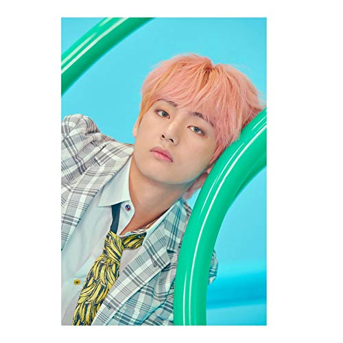 Cianowegy BTS Poster, Kpop BTS Bangtan Boys Love Yourself Answer Poster RM JIN SUGA J-Hope Jimin V JUNG KOOK Poster Paintings Wall Decoration for A.R.M.Y(Version F - 8)