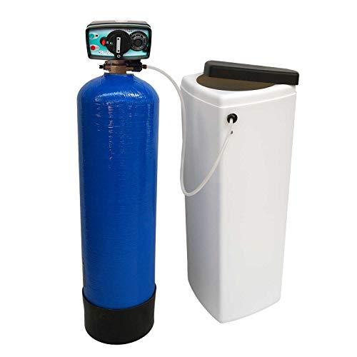 Adoucisseur d'eau bi bloc 14L Fleck 4600 MV eau chaude