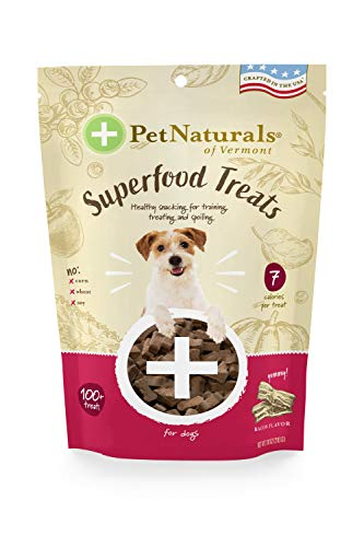 Pet Naturals of Vermont Superfood Dog Treats, Bacon, 7.41oz - Natural and...