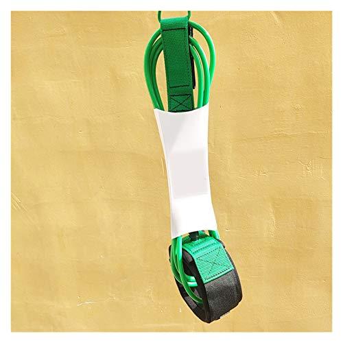Accesorios de surf Cuerda de seguridad de la pierna de la cuerda de la cuerda del pie de la correa de la correa de la rodilla de la correa de la rodilla de 7mm 7mm TPU doble giratorio de doble inoxida
