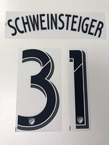 Flock Original Chicago Fire Trikot 24cm - Schweinsteiger 31