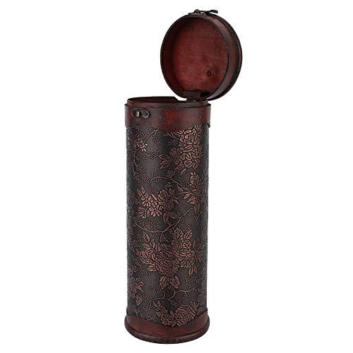 Lantro JS Caja de Vino Tinto Individual Duradera Vintage, Caja de Vino Tinto, útiles y cómodas visitas Festivas Deseos de cumpleaños para Regalos de Empresa Bebidas de reunión