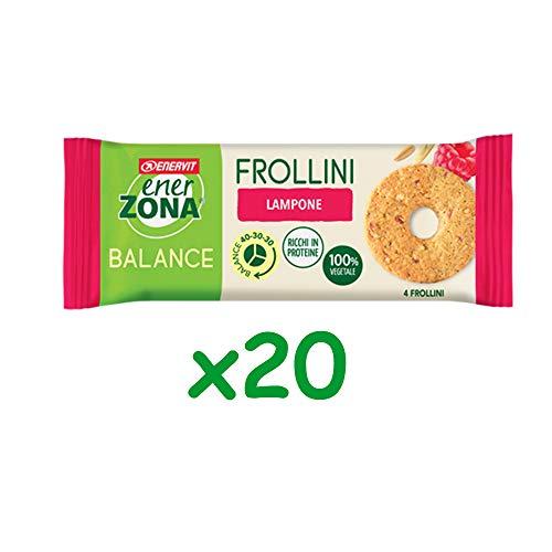 Enerzona Frollini lampone box da 20 snack - Enervit