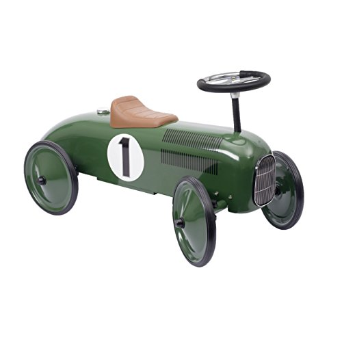 Lowest Prices! Goki 14167 Ride-on Vehicle Toy, Green