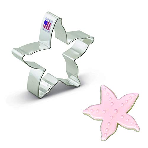 Ann Clark Cookie Cutters Starfish Cookie Cutter, 3.75'