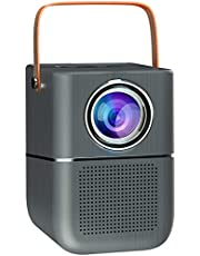 $93 » Fcoreey Outdoor Movie Projector, 1080P Supported Portable Bluetooth Projector with Screen Mirroring by Type C/ HDMI Adapter Compatible with Smartphone, TV Box, TV Stick, PS4, HDMI, AV, USB