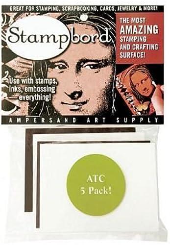 ATC Stampbord Stempel und handwerklichen Oberfl en