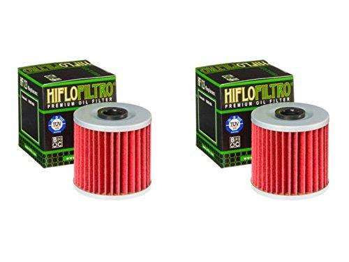 Hiflo Filtro de aceite HF123 para KLF250 A1-A3, A6F-A9F, AAF, ABF Bayou 03-11