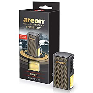 Ambientador coche difusor Areon Gold .-